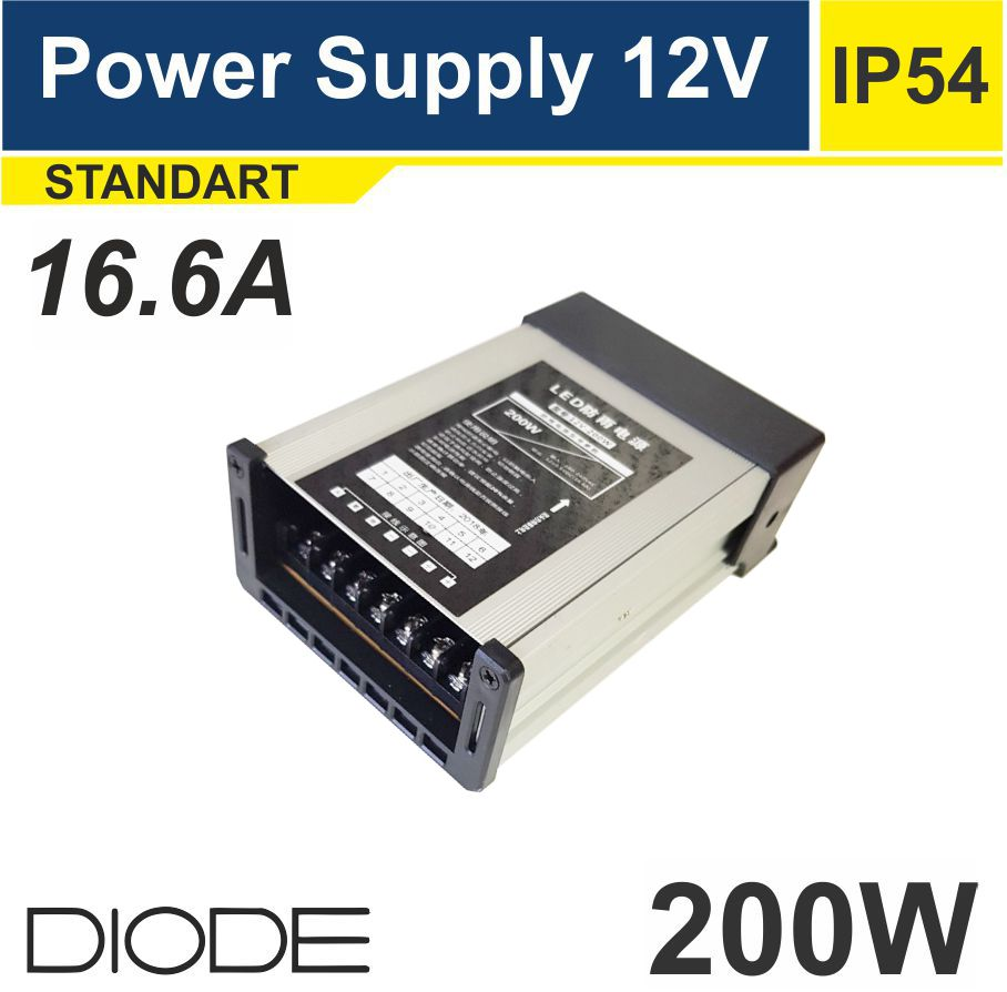 Блок питания IP54 200W