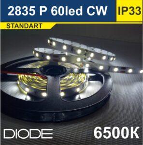 Светодиодная лента SMD2835 60led 6500К