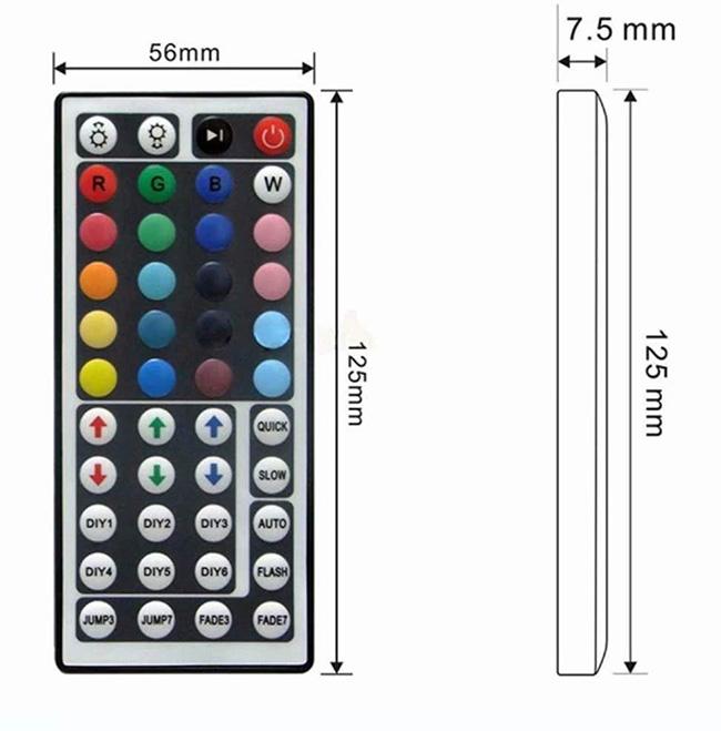 Пульт 44 кнопки