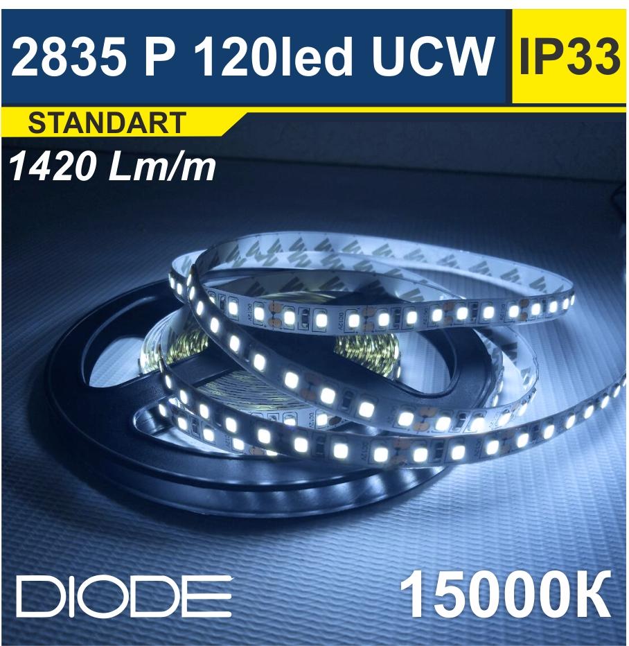 Светодиодная лента SMD2835 120led 15000К