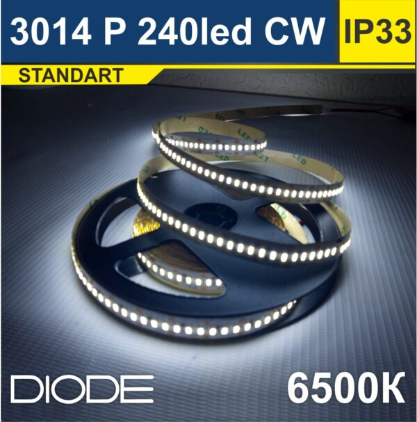Светодиодная лента SMD2835 240led 6500К