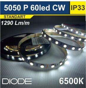 Светодиодная лента SMD5050 60led 6500К