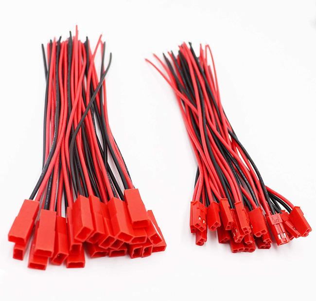 Коннектор 2 pin красный