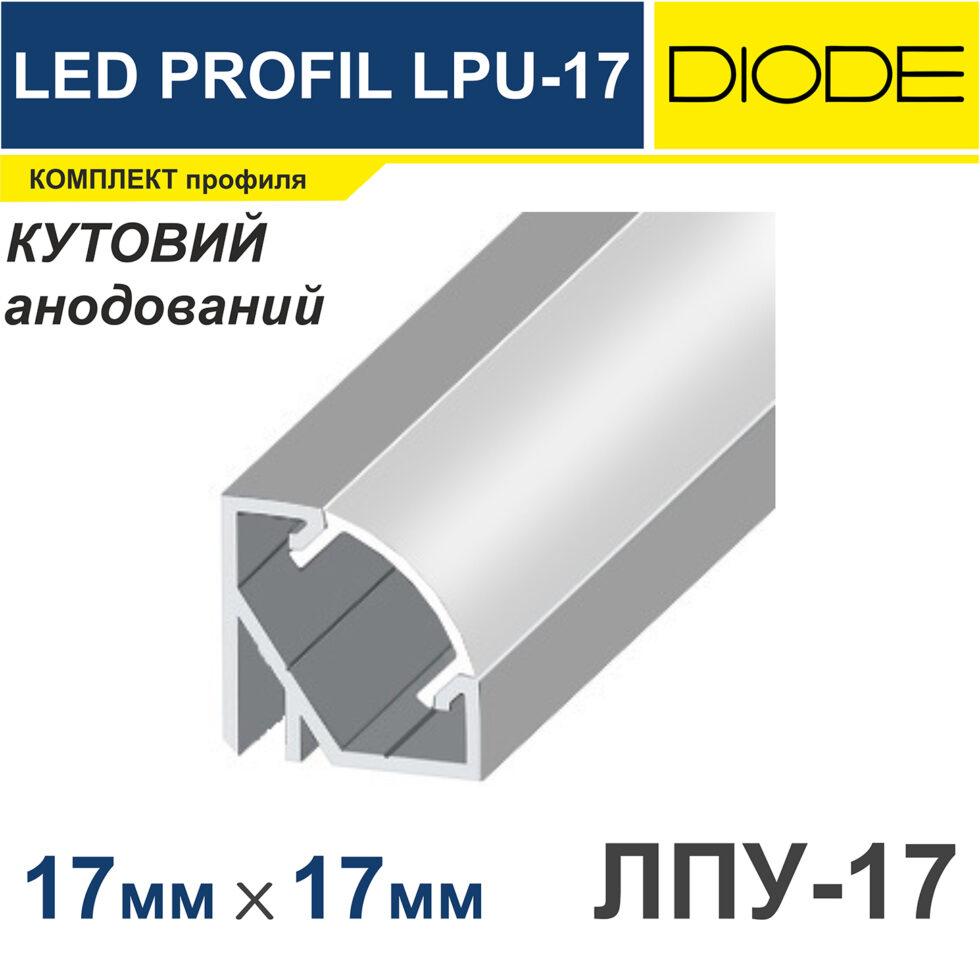 Профиль алюминиевый угловой