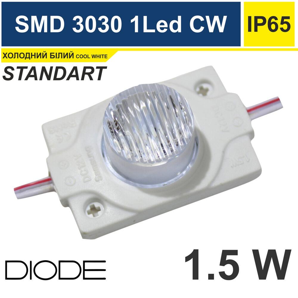 Светодиодный модуль торцевой 1.5W